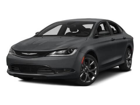 2015 Chrysler 200 Limited for sale at DODGE OF BURNSVILLE INC in Burnsville MN