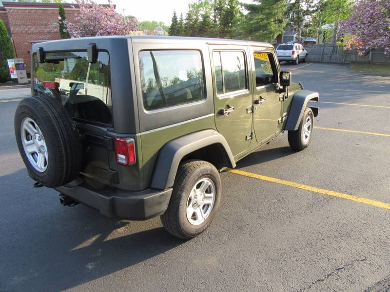 2015 Jeep Wrangler Unlimited 4x4 Sport 4dr SUV - Gilford NH