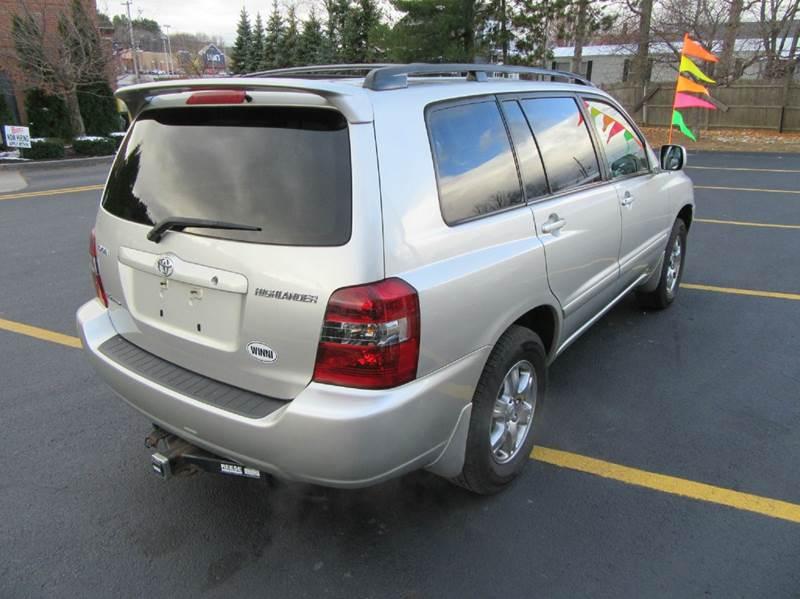 2007 Toyota Highlander AWD 4dr SUV V6 - Gilford NH