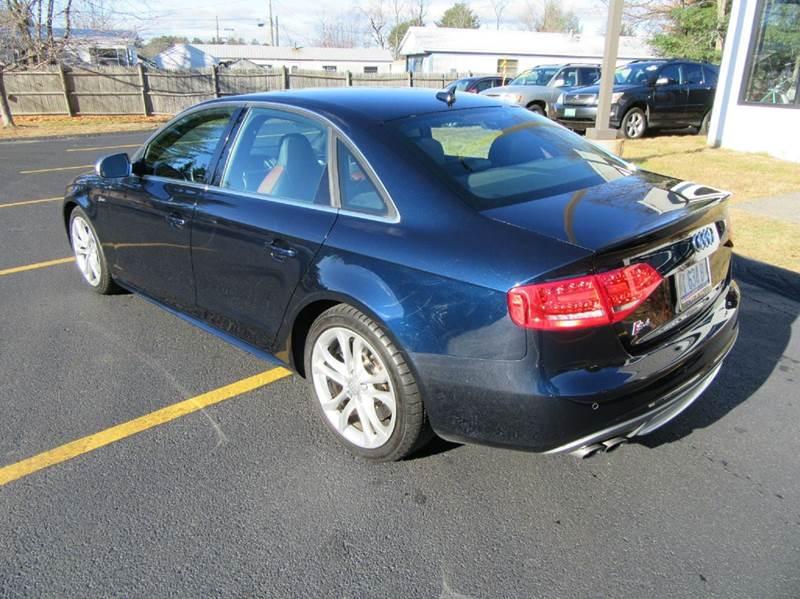 2011 Audi S4 AWD 3.0T quattro Premium Plus 4dr Sedan 7A - Gilford NH