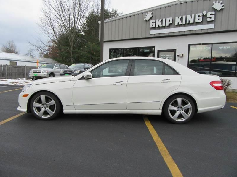 2011 Mercedes-Benz E-Class AWD E 350 Sport 4MATIC 4dr Sedan - Gilford NH