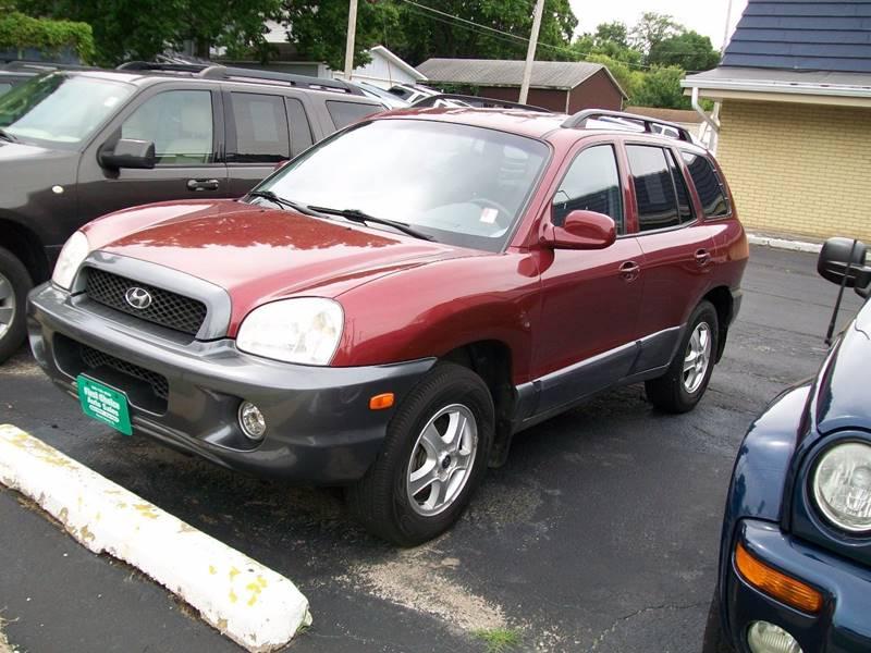 2002 Hyundai Santa Fe For Sale At First Choice Auto Sales In Rock Island IL