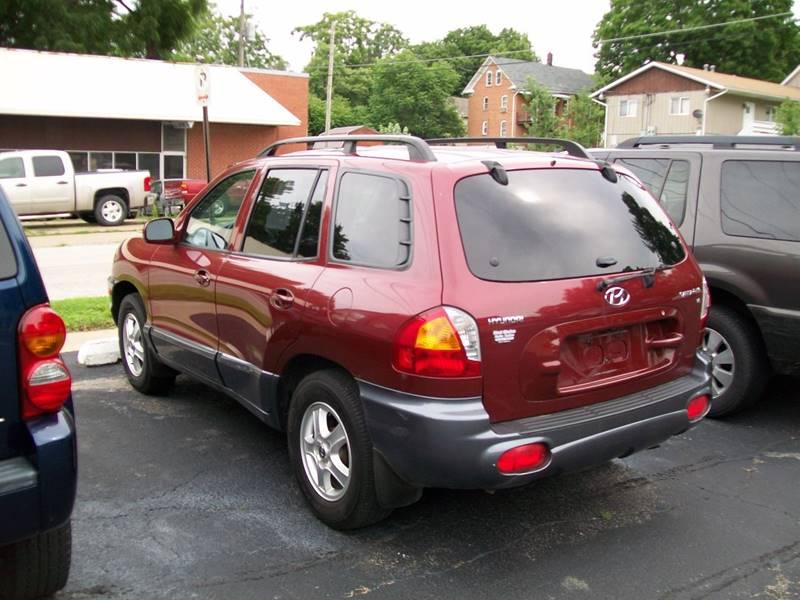 2002 Hyundai Santa Fe GLS 2WD 4dr SUV - Rock Island IL
