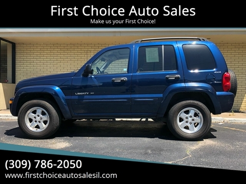 2002 Jeep Liberty for sale in Rock Island, IL