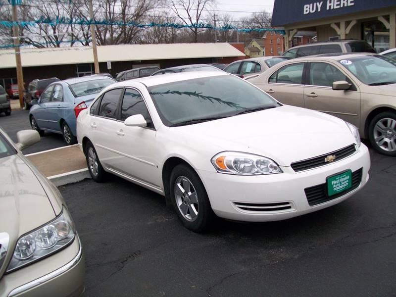 2008 Chevrolet Impala LT 4dr Sedan w/ roof rail curtain delete - Rock Island IL