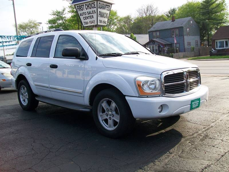 2006 Dodge Durango Limited 4dr SUV 4WD w/ Front, Rear and Third Row Head Airbags - Rock Island IL