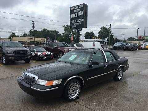 1998 Mercury Grand Marquis for sale in Fraser, MI