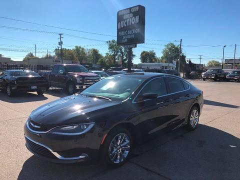 2016 Chrysler 200 for sale in Fraser, MI