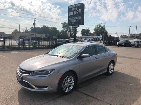 2015 Chrysler 200 for sale in Fraser, MI