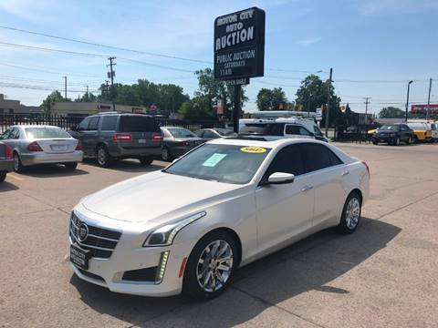 2014 Cadillac CTS for sale in Fraser, MI