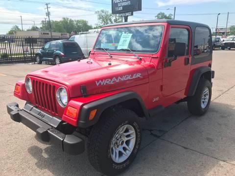 1998 Jeep Wrangler for sale in Fraser, MI