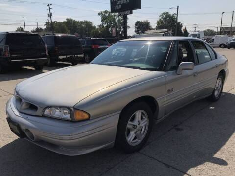 Silver 1996 NOS 1997 Pontiac Bonneville SSEi Supercharged Emblem Green
