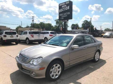 2005 Mercedes-Benz C-Class C 240 4MATIC for sale at Motor City Auto Auction in Fraser MI