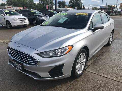 2019 Ford Fusion for sale at Motor City Auto Auction in Fraser MI