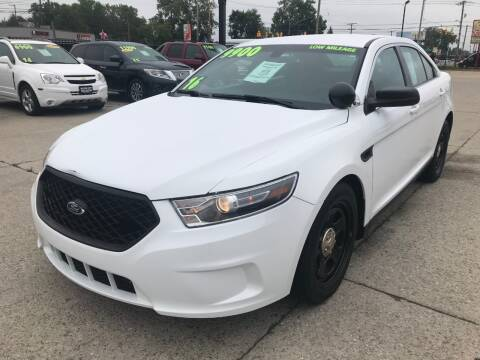 2016 Ford Taurus for sale at Motor City Auto Auction in Fraser MI
