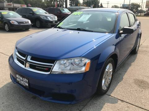 2013 Dodge Avenger for sale at Motor City Auto Auction in Fraser MI