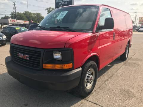 2014 GMC Savana Cargo for sale at Motor City Auto Auction in Fraser MI