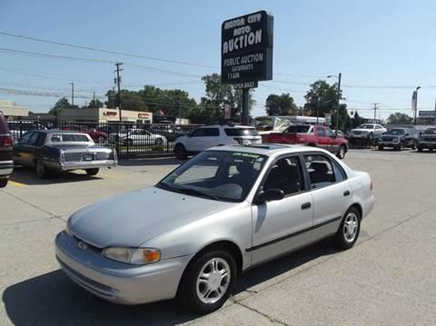2000 Chevrolet Prizm for sale in Fraser, MI