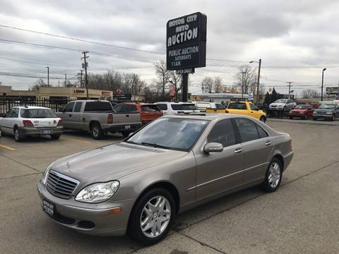 2006 Mercedes-Benz S-Class for sale in Fraser, MI