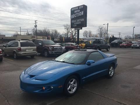 1999 Pontiac Firebird for sale in Fraser, MI