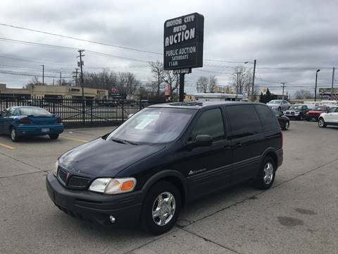 2001 Pontiac Montana for sale in Fraser, MI