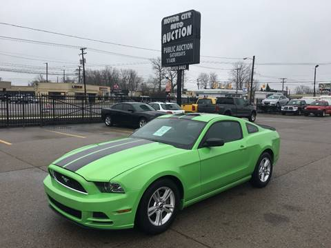 2013 Ford Mustang for sale in Fraser, MI