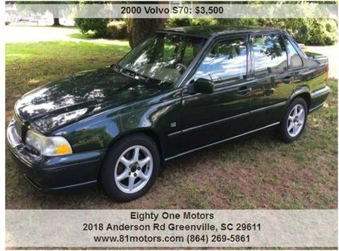 2000 Volvo S70 for sale in Greenville, SC