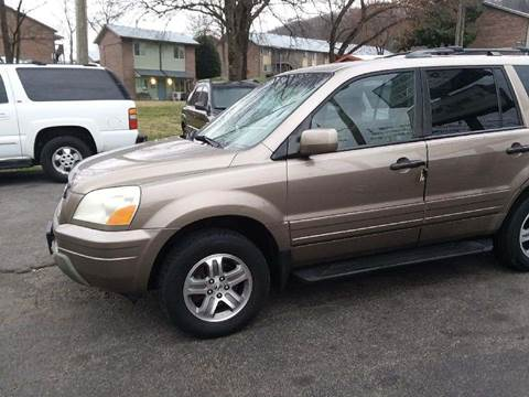 2003 Honda Pilot for sale at Knoxville Wholesale in Knoxville TN