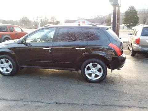 2004 Nissan Murano for sale at Knoxville Wholesale in Knoxville TN