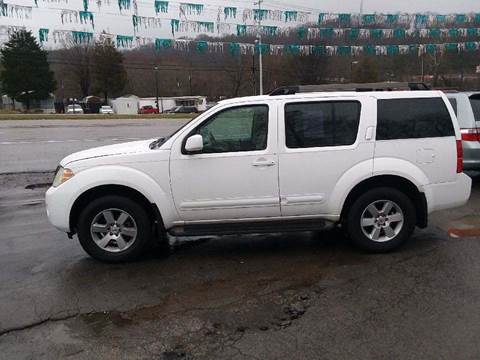 2008 Nissan Pathfinder for sale at Knoxville Wholesale in Knoxville TN