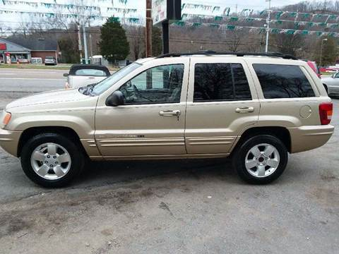 2001 Jeep Grand Cherokee for sale at Knoxville Wholesale in Knoxville TN