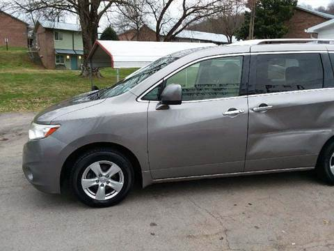 2012 Nissan Quest for sale at Knoxville Wholesale in Knoxville TN