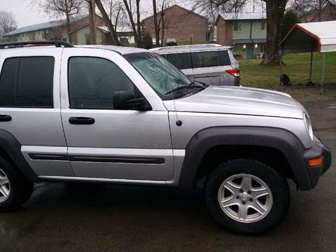 2004 Jeep Liberty for sale at Knoxville Wholesale in Knoxville TN