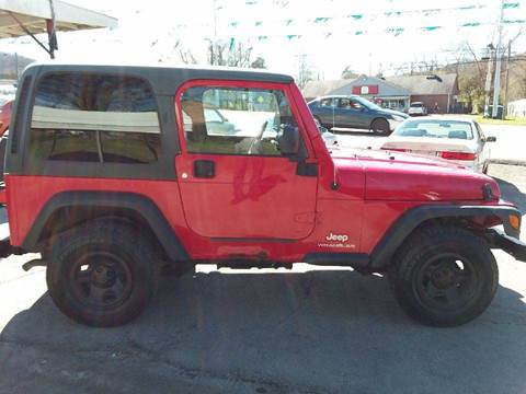2006 Jeep Wrangler for sale at Knoxville Wholesale in Knoxville TN