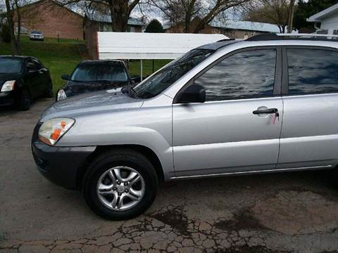 2008 Kia Sportage for sale at Knoxville Wholesale in Knoxville TN
