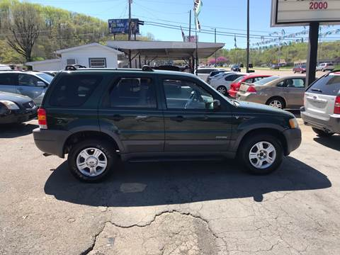 2002 Ford Escape for sale at Knoxville Wholesale in Knoxville TN