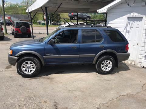 2003 Isuzu Rodeo for sale at Knoxville Wholesale in Knoxville TN