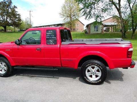 2002 Ford Ranger for sale at Knoxville Wholesale in Knoxville TN