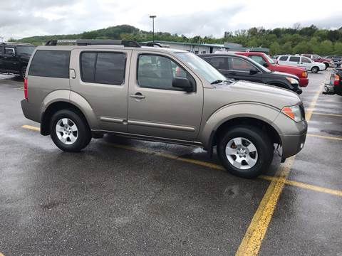 2006 Nissan Pathfinder for sale at Knoxville Wholesale in Knoxville TN