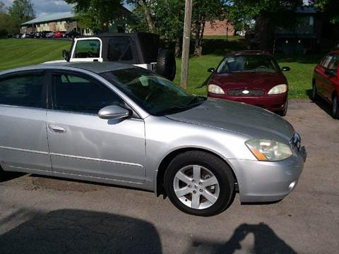 2004 Nissan Altima for sale at Knoxville Wholesale in Knoxville TN