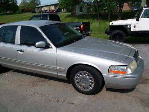2003 Mercury Grand Marquis for sale at Knoxville Wholesale in Knoxville TN