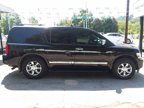 2007 Infiniti QX56 for sale at Knoxville Wholesale in Knoxville TN