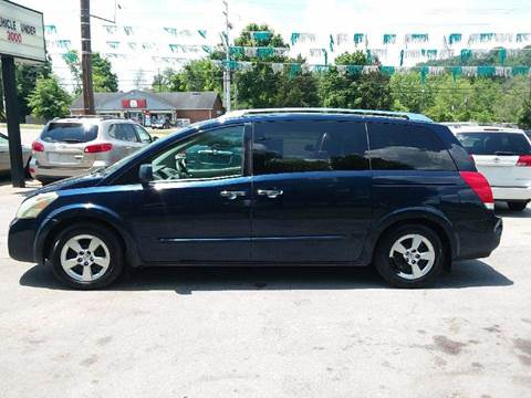 2008 Nissan Quest for sale at Knoxville Wholesale in Knoxville TN