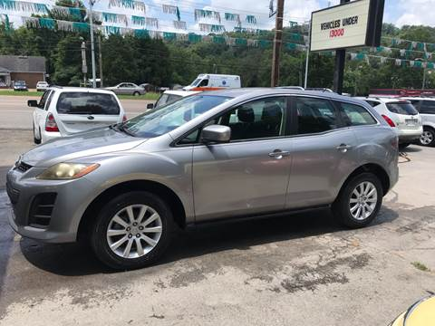 2010 Mazda CX-7 for sale at Knoxville Wholesale in Knoxville TN