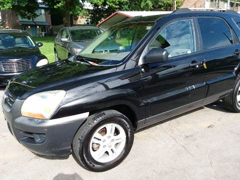 2005 Kia Sportage for sale at Knoxville Wholesale in Knoxville TN