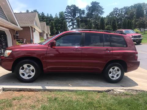 2006 Toyota Highlander for sale at Knoxville Wholesale in Knoxville TN