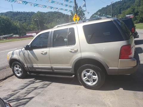 2002 Ford Explorer for sale at Knoxville Wholesale in Knoxville TN