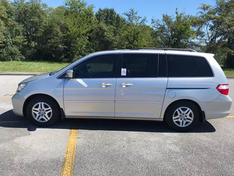 2007 Honda Odyssey for sale at Knoxville Wholesale in Knoxville TN