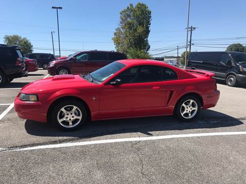2003 Ford Mustang for sale at Knoxville Wholesale in Knoxville TN