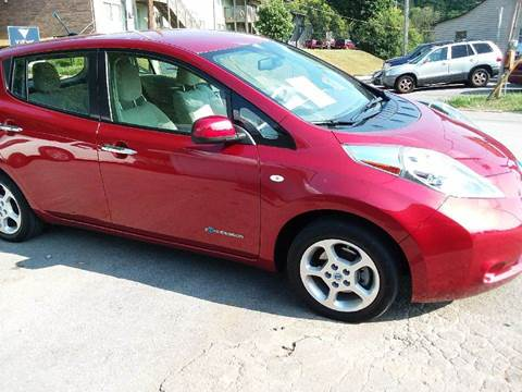 2012 Nissan LEAF for sale at Knoxville Wholesale in Knoxville TN